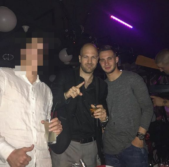 Bane Janković u klubu