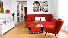 Mieszkanie na warszawskim Ursynowie - dzięki pomysłowo przerobionym meblom ma niepowtarzalny wystrój