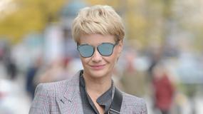 """Małgorzata Kożuchowska w kozakach pod studiem """"Dzień dobry TVN"""". Jak wyglądała?"""