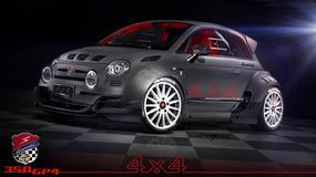 Fiat 500 z sercem Alfa Romeo ma 350 KM