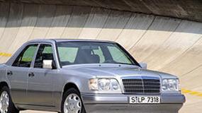 Mercedes-Benz E: historia gwiazdy klasy średniej wyższej (250 fotografii)