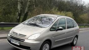Citroen Xsara Picasso, Opel Zafira, Renault Scenic - Pokonać przestrzeń