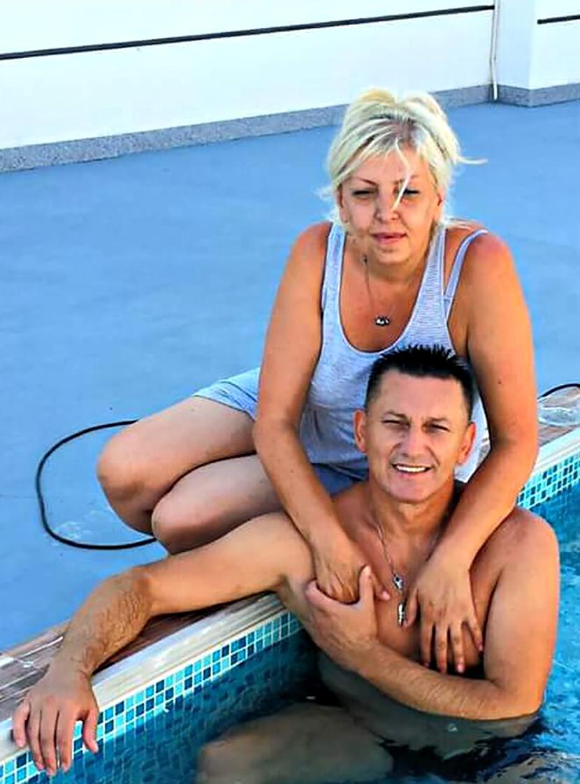 Šako sa suprugom Vesnom