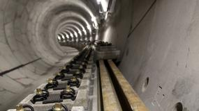 Budowa metra: układają pierwsze torowisko