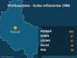 Wielkopolskie - liczba milionerów 1986, wzrost o 16 proc.