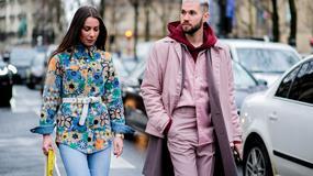 Street style na Fashion Weeku w Paryżu