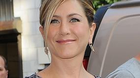 Jennifer Aniston w małej szarej