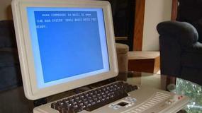 Oryginalny laptop z Commodore 64