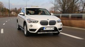BMW X1 25d - Przyjemność z jazdy