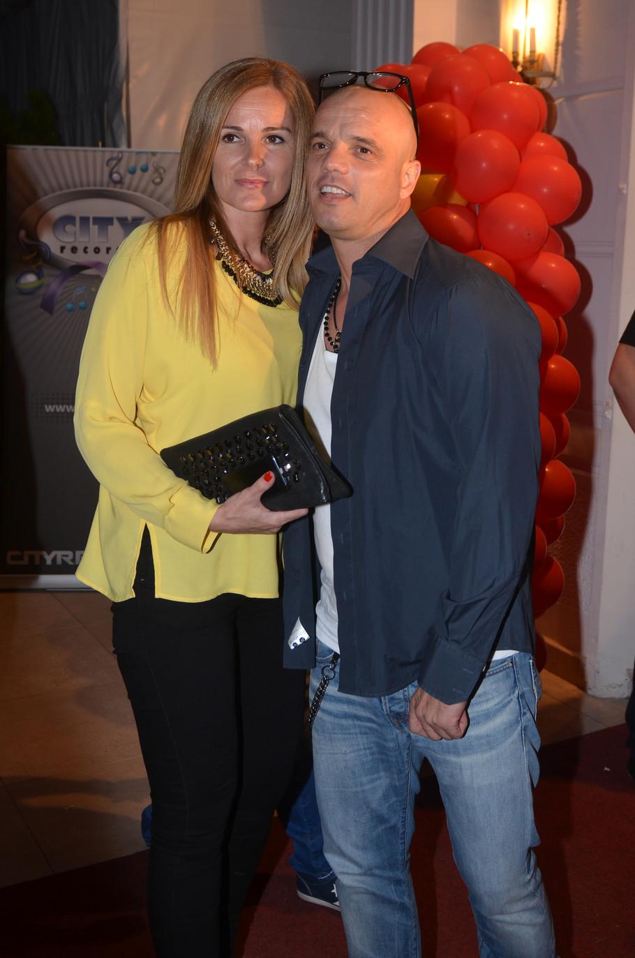 Boban Rajović sa suprugom