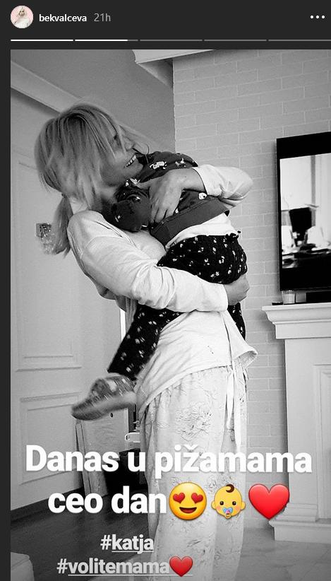 Nataša Bekvalac sa ćerkom Katjom