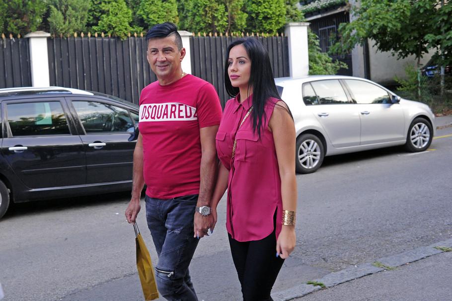 Zoran Pejić Peja i supruga Dragana