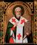 Św. Mikołaj, l. 80. XVII w., namiestna ikona przegrody ołtarzowej w cerkwi pw. św. Paraskewy w Uściu Gorlickim