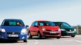 Fiat Grande Punto kontra Renault Clio i VW Polo: niedrogie, ale czy trwałe i niezawodne
