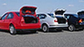Ford Focus, Opel Astra II, Seat Toledo II, VW Bora - Który spodoba się rodzinie?