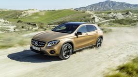Mercedes GLA - kosmetyka