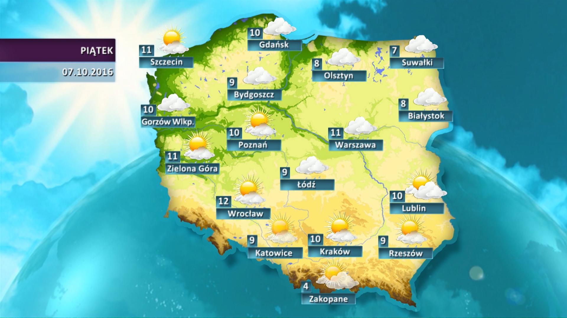 Pogoda Na Dzis Prognoza Pogody Dla Polski 7 10 Wiadomosci