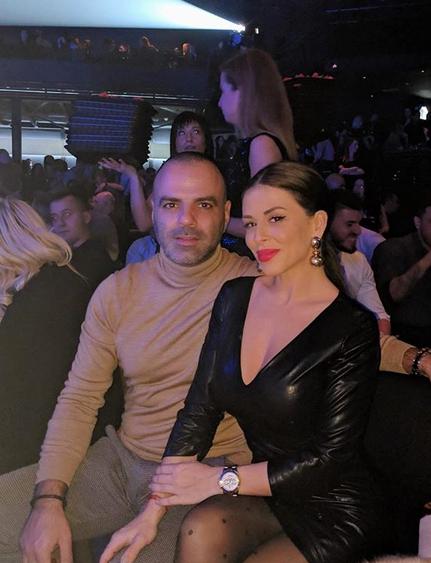 Ana Sević i dečko Danijel