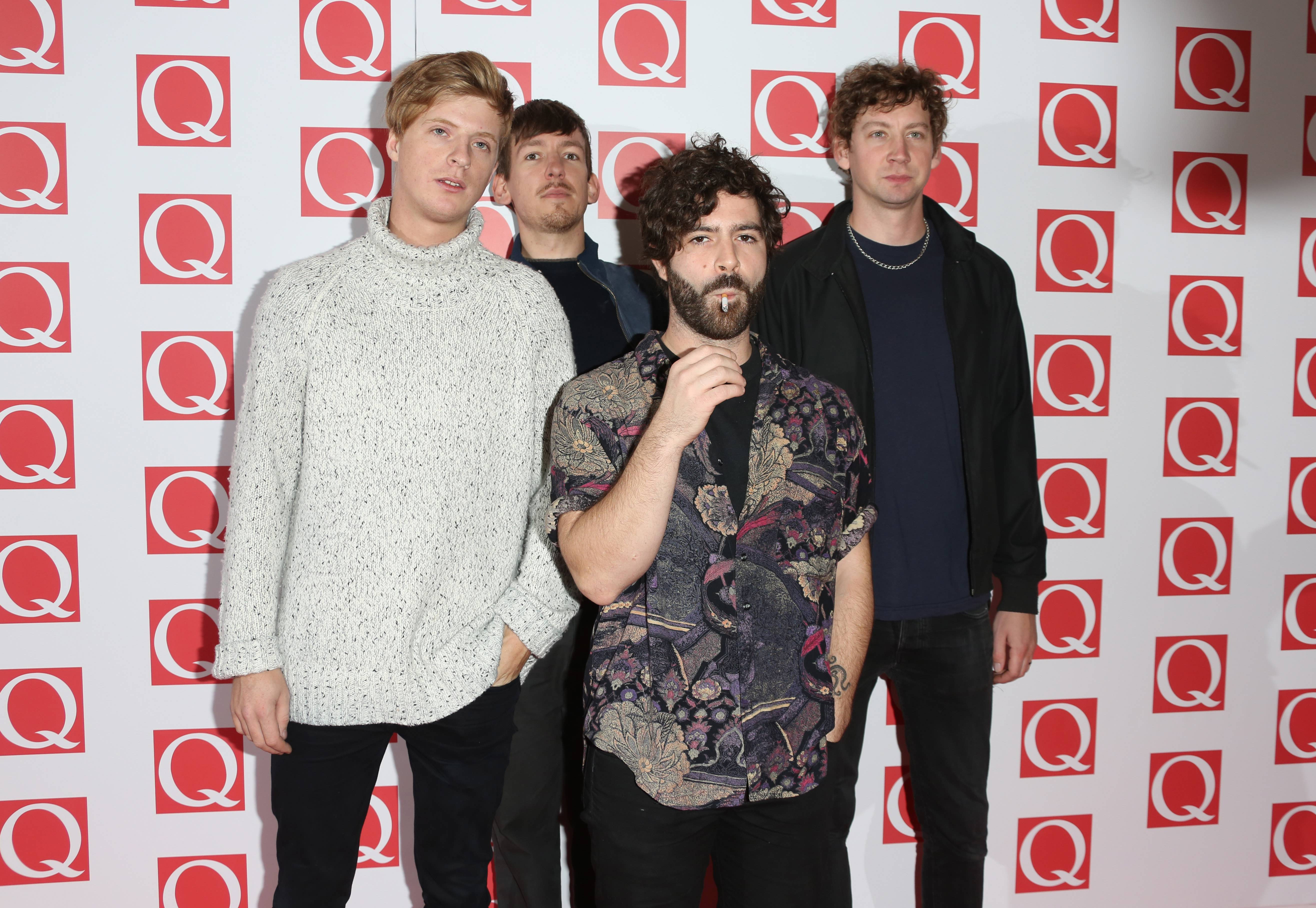Foals na gali Q Awards 2013
