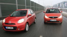 Nissan Micra kontra Tata Indica Vista: to cóż że z Indii