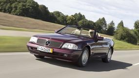 Ponadczasowy kabriolet: Mercedes R129