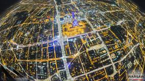 Unikatowe zdjęcia Warszawy. Stolica sfotografowana z wysokości 3,5 km nad ziemią