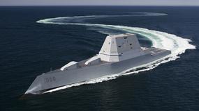 USS Zumwalt - amerykańska marynarka wprowadza do służby niezwykły okręt
