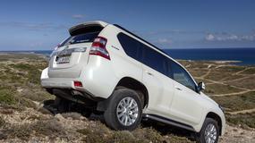 Toyota Land Cruiser - downsizing w terenie