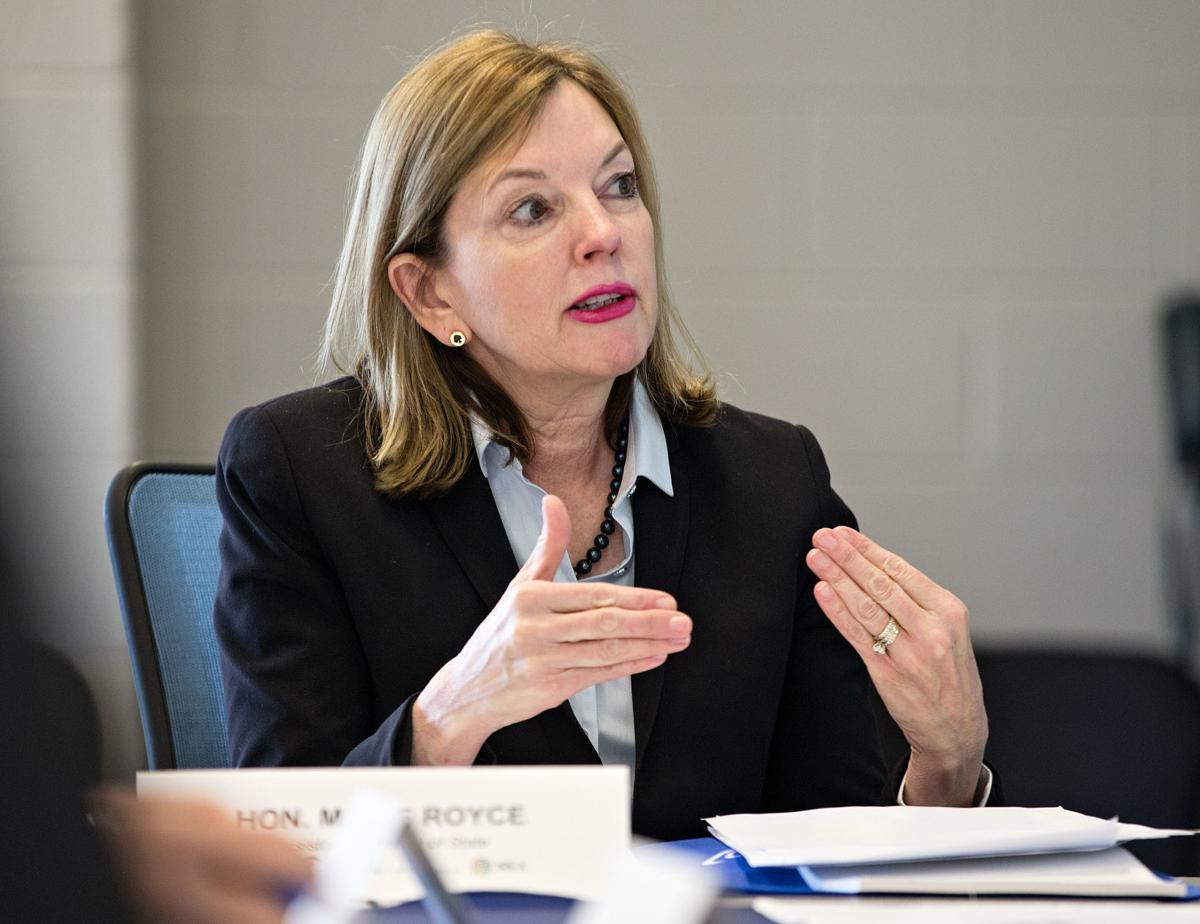 Marie Royce, Assistant Secretary of State for Educational and Cultural Affairs. [winchesterstar]