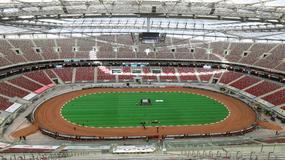 Stadion Narodowy zamienił się w arenę żużlową