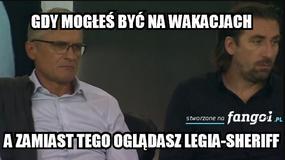 Legia Warszawa remisuje z Sheriffem Tyraspol 1:1 - memy po meczu