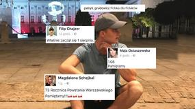 Powstanie Warszawskie: gwiazdy świętują 1 sierpnia w mediach społecznościowych