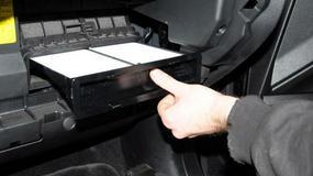 Jak naprawić wentylację (wymienić filtr kabinowy)?