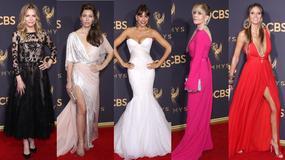 Emmy 2017: kto błyszczał na czerwonym dywanie?