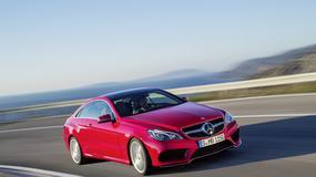 Mercedes Klasy E Coupé i Cabriolet po liftingu
