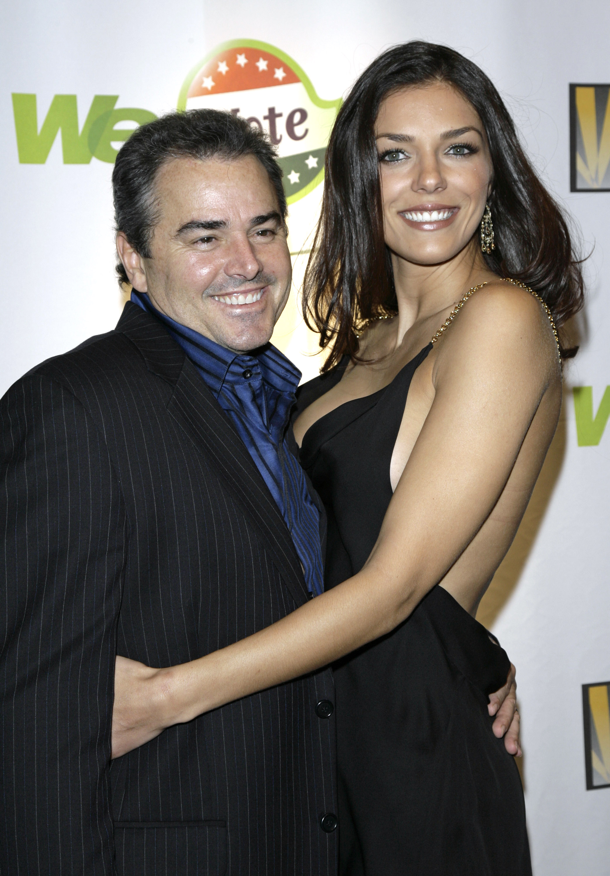 Adrianne Curry i Christopher Knight