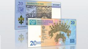 Nowy 20 zł banknot w Polsce. NBP celebruje 300-lecie koronacji Obrazu Matki Bożej Jasnogórskiej