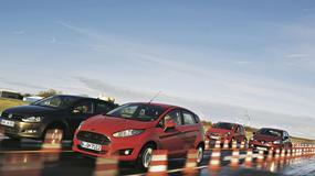 Ford Fiesta kontra Opel Corsa, Renault Clio i Volkswagen Polo: pojedynek w klasie B
