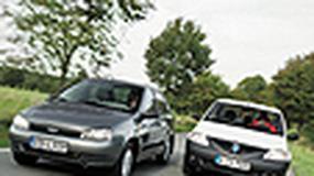 Lada Kalina, Dacia Logan - Przesyłka ze Wschodu