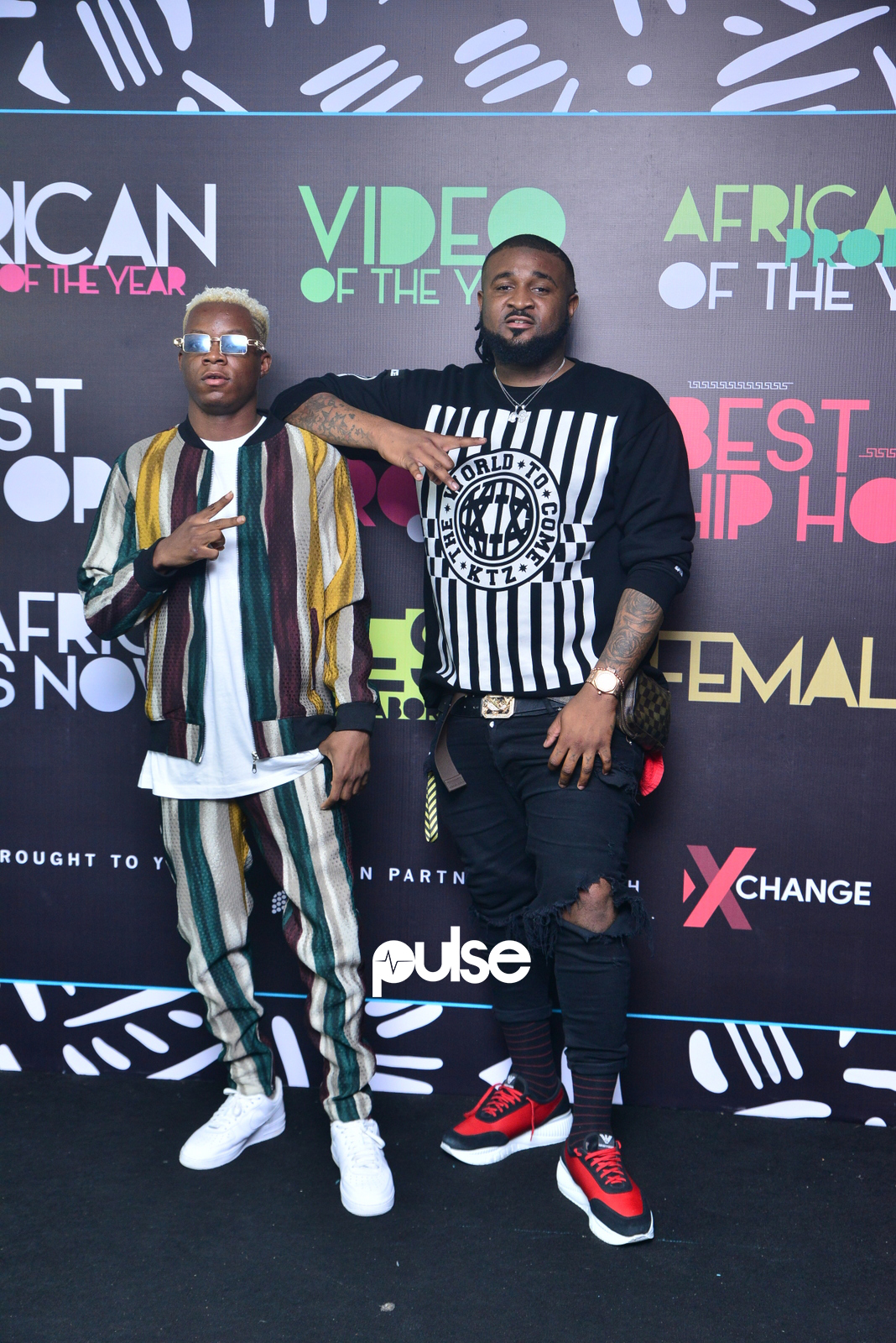 Terri and Ceeza Milli both won best collaboration with Wizkid for the song 'Soco'