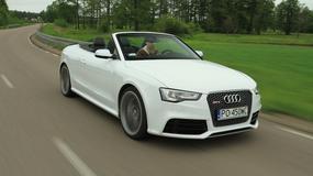 Audi RS5 Cabrio: Pełna moc wrażeń