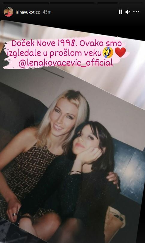 Irina Vukotić i Lena Kovačević