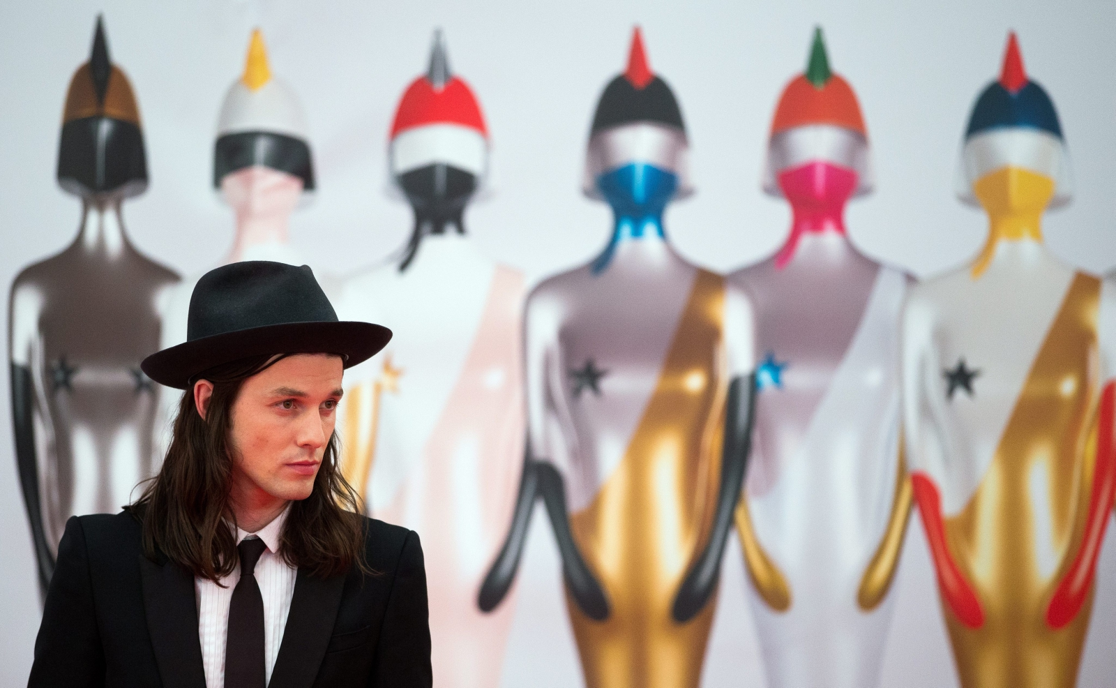 James Bay na gali Brit Awards 2016