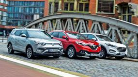 SsangYong XLV kontra Hyundai Tucson i Renault Kadjar