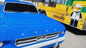 Pełnowymiarowy Ford Mustang z... klocków Lego