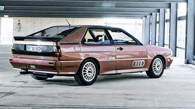 Audi Quattro - postrach rajdowych tras