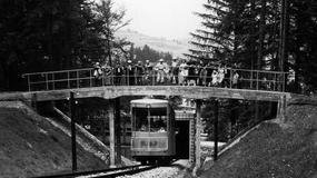 80. urodziny zabytkowej kolejki na Górę Parkową w Krynicy-Zdroju