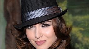 Piękna Marta Żmuda Trzebiatowska w kapeluszu