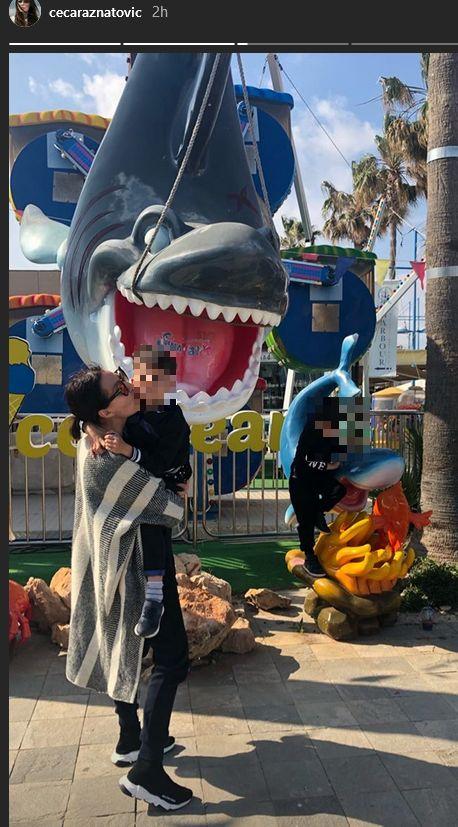 Ceca odvela sestriće u zabavni park
