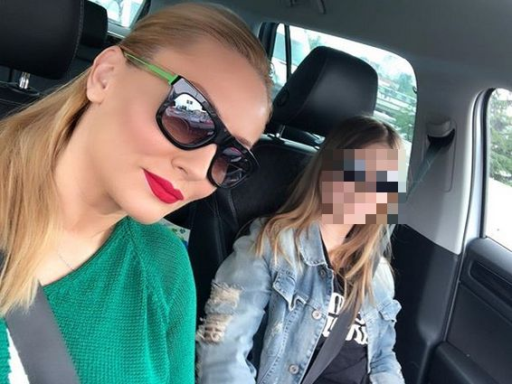 Goca Tržan sa ćerkom Lenom
